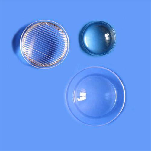 Aspheric glass lenses