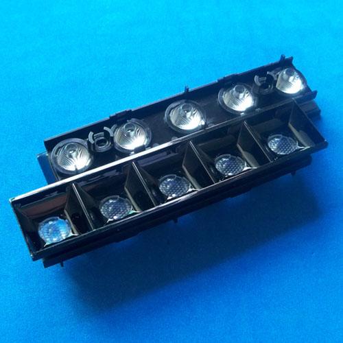 48degree-5in1 Linear light optics Lens for CREE XPE|OSRAM OSLON|Luxeon 3535|Seoul Z5 LEDs(HX-15PD-48 LINEAR OPTICS)