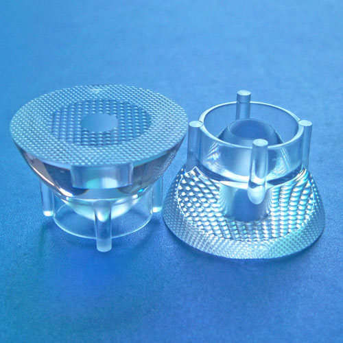 30degree diameter 23mm Led lens for CREE XML RGBW,XHP50|OSRAM OSLON LEDs(HX-HTX-30)