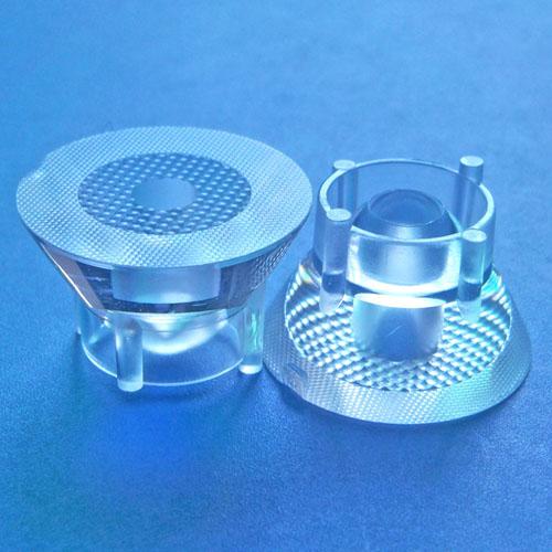 10degree diameter 23mm Led lens for CREE XML RGBW,XHP50 OSRAM OSLON LEDs(HX-HTX-10)